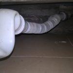 гофра под ванной
